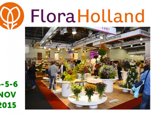 4 t/m 6 november 2015: FloraHolland Trade Fair Aalsmeer